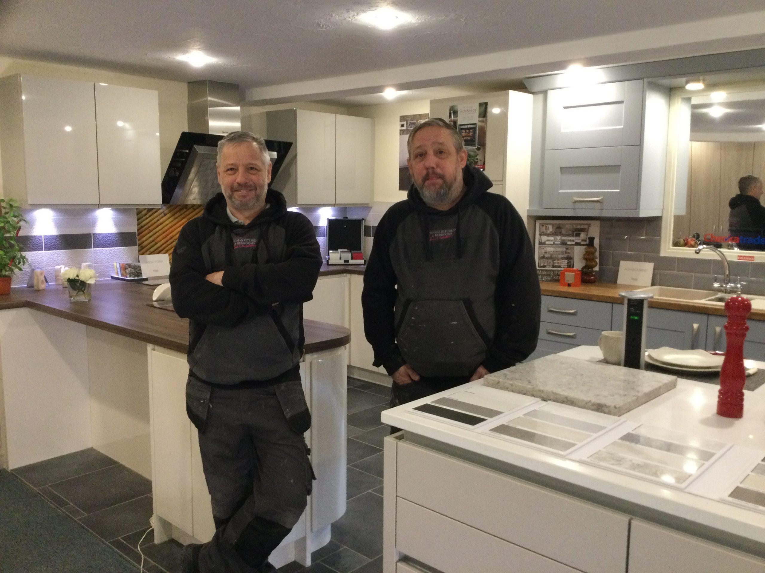 Peter Aston & Graham Aston <small>Fitter / Carpenters</small>